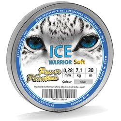 Леска Power Phantom Ice Warrior SOFT SILVER 30m