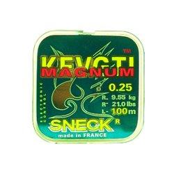 Леска моно. Sneck Magnum LightGreen, 100m