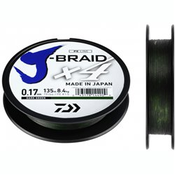 Шнур Daiwa J-Braid X4 Dark Green  135м