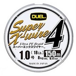 Пл.шн. Duel PE Super X-Wire 4 150m 5color