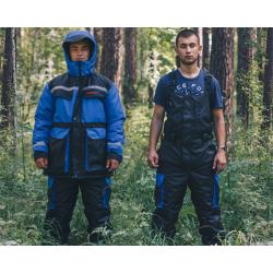 Костюм зимний Raftlayer Шторм -40°C черно/синий