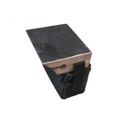 Держатель с сумкой для экрана эхолота и аккумулятора УКБ-1Б